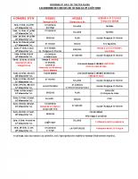 Calendrier paroisses 2020-2021