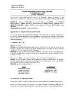 Conseil Municipal AOÛT 2020