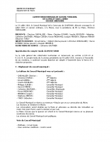 Conseil Municipal JUIN 2020