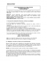Conseil Municipal JUILLET 2020