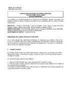 Conseil Municipal OCTOBRE 2020