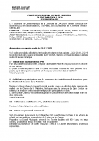 Conseil Municipal DECEMBRE 2020