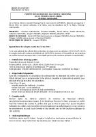 Conseil Municipal FEVRIER  2021