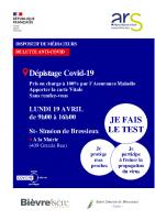 Affiche dépistage SSDB 19-04-2021